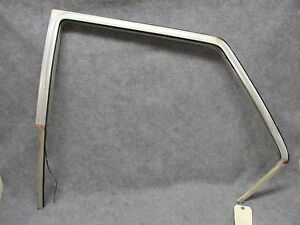1963 Amc Rambler 770 Wagon Lh Rear Door Upper Aluminum Top Channel Oem 26252