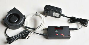 Automatic Bbq Temperature Controller Charcoal Wood Smoker Grill Pit Uds Weber