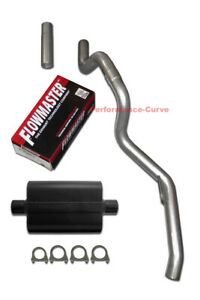 93 97 Jeep Grand Cherokee Zj Cat Back Exhaust System W Flowmaster Super 44