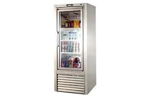 Leader 30 Commercial Refrigerated Soda Case With Swing Doors self contained