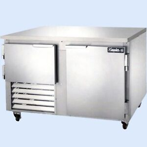 Leader 48 Commercial Refrigerated Work Top Freezer Low Boy self contained