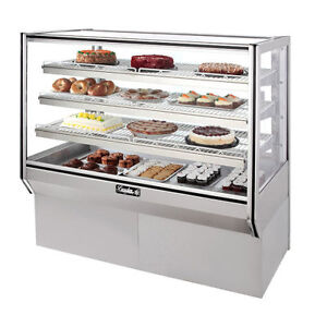 Leader 57 Commercial High Bakery Display Non refrigerated Case dry Unit