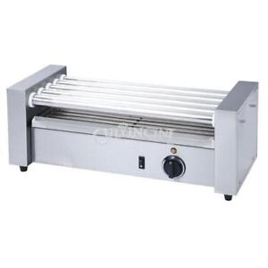 Adcraft Hot Dog Grill 22 5 X 8 5 X 8 Roller type 5 Rollers Rg 05