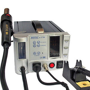 Aoyue 2738a Lead free Soldering Station 110 V