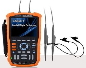 Siglent Shs1062 Handheld Digital Oscilloscope 2 Channel 60mhz