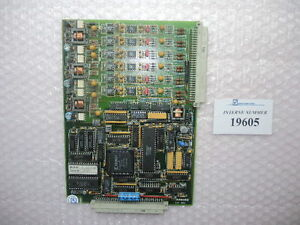 Temperature Card Sn 120 529 Ident no 2 5275f Arburg Used Spare Parts