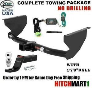 Fits 1999 2004 Jeep Grand Cherokee Class 3 Trailer Hitch Package W 1 7 8 Ball