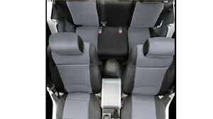Smittybilt 471201 Black Neoprene Seat Covers For 97 02 Jeep Wrangler Tj