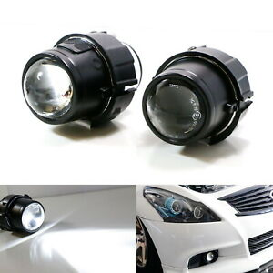 Direct Oem Replacement Projector Fog Lamps For Nissan Cube Juke Murano Infiniti