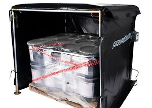 Bulk Material Warmer Hot Box Heater Powerblanket Hb48 1200 1200 Watts