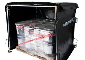 Bulk Material Warmer Hot Box Heater Powerblanket Hb54 1200 1200 Watts