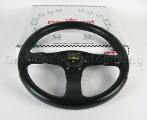 Personal Steering Wheel Blitz 350 Mm Black Polyurethane With Black Spokes