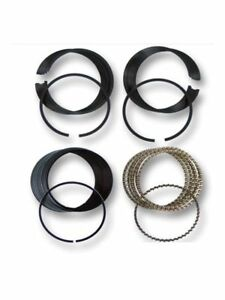 Moly Piston Rings Fits Ford 302 5 0l Ohv V8 1968 1985 Std 020 030 040 060