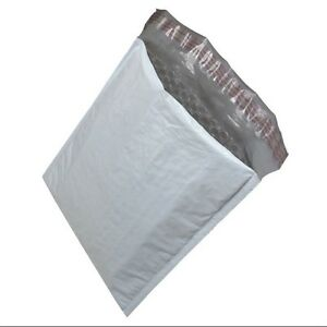 100pcs 000 4x7 Poly Bubble Padded Mailers Envelopes Bags With Self Adhesive