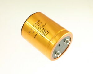 Lot Of 2 Roderstein Leym01hj433m02 3300uf 160v Large Can Electrolytic Capacitor