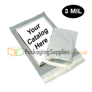 3000 5 x7 Clear View Poly Mailer 3 Mil Shipping Mailing Plastic Envelopes Bags