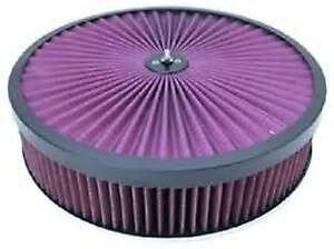14 Superflow Filter Top Air Cleaner Set Chevy Hotrod Ratrod