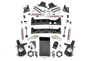 Rou 27220a Rough Country 99 06 Chevy 1500 4x4 6in Ntd Lift Kit W N2
