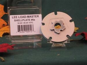 90912 Lee Load Master LM Shell Plate #6s 3220 & 2520