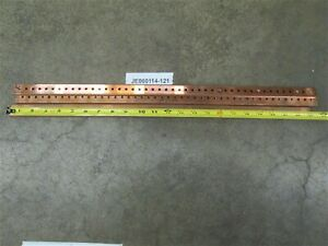 Copper Main Bus Bar 1 X 3 16 X 23 Eaton cutler Hammer Prl1
