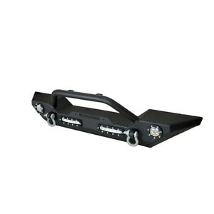 Paramount Restyling 51 0308l Heavy Duty Rock Crawler Front Bumper W Led Lights