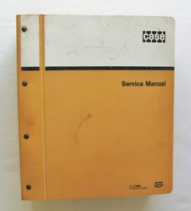 Case 310g 350 Crawler Service Manual