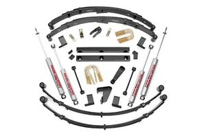 Rou 620mn2 Rough Country 87 96 Jeep Yj 4 quot Suspension Lift Kit W Shocks