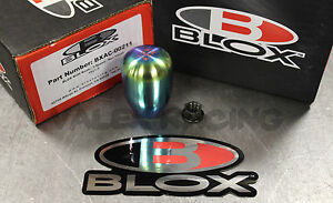 Blox Racing Original Neo Finish Type r Shift Knob Honda Acura 10x1 5 5 Spd
