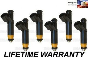Best Upgrade Flow Matched Set Of 6 Injector Xr3e a6b 99 03 Ford Truck 4 2l V6