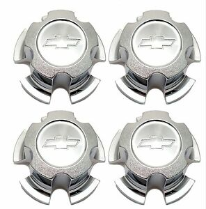 New Chevy Camaro Chevelle Nova 14 6 hole Rally Wheel Center Hub Cap Set Of 4