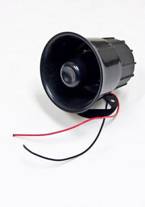 Universal 4 12v Car Truck Rv Electric Air Horn Siren Speaker Loud 110db 30w