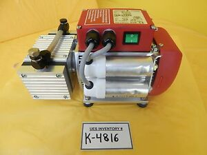 Mvp 015 2 Pfeiffer Vacuum Pk T05 100 Dry Vacuum Pump Used Tested Working
