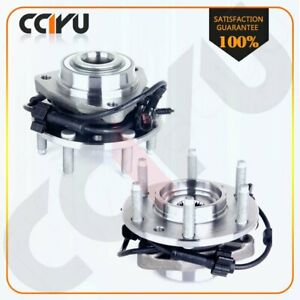 2 Pcs Front Wheel Hub Bearing Assembly For Chevy Buick Trailblazer With Abs