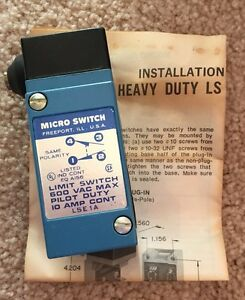 Honeywell Micro Switch Lse1a Limit Switch