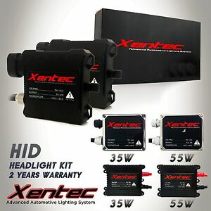 One 35w 55w Xentec Hid Xenon Conversion Kit S Replacement Ballasts H11 9006 880