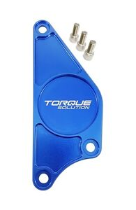 Torque Solution Billet Cam Plate Blue Fits Subaru Brz Scion Fr S 2013
