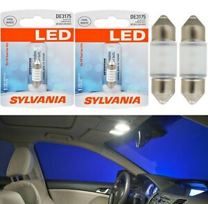 Sylvania Premium Led Light De3175 White One Bulb License Plate Dome Festoon Map