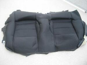 2010 2011 2012 10 11 12 Ford Mustang Rear Bottom Seat Cover Cloth Black Oem