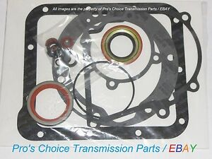 Complete External Oil Seal Reseal Kit Fits 1968 1986 Ford C4 Transmissions