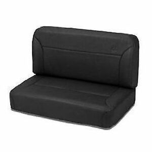 Bestop 39437 01 Jeep Seats Fixed Black Rear Bench Trailmax Ii Classic Vinyl