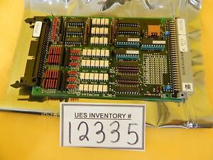 Hitachi Il36 i Pcb Card M 511e Microwave Plasma Etching Used Working