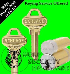 Qty 1 Schlage Ic Large Format Removable Core C123 Everest Keyway 626 1 Bitted