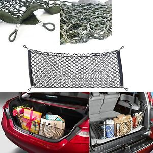 Universal Rear Luggage Cargo Trunk Storage Organizer Net For Mazda Nissan Subaru