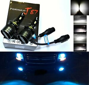 Led 80w 9006 Hb4 Blue 10000k Two Bulbs Head Light Low Beam Show Use Replace