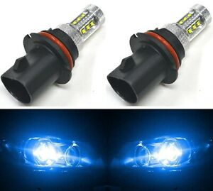 Led 80w 9007 Hb5 Blue 10000k Two Bulbs Head Light Replace Lamp Off Road Drl