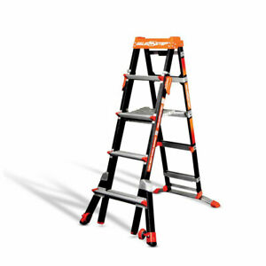 Little Giant 15130 5 8 ft Type Iaa Select Step Fiberglass Ladder 300lb Capacity