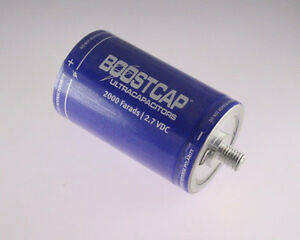 Maxwell 2000f 2 7v Battery Back Up Capacitor K2 Series Ultracapacitors Boostcap