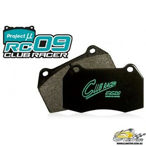 Project Mu Rc09 Club Racer For Forester Sg9 sti Brembo f