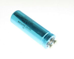 Lot Of 2 Mallory Cg152u75c1 1500uf 75v Large Can Electrolytic Capacitor