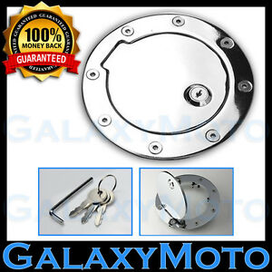 94 02 Dodge Ram Truck 2500 3500 Chrome Replacement Billet Gas Door Cover W Lock